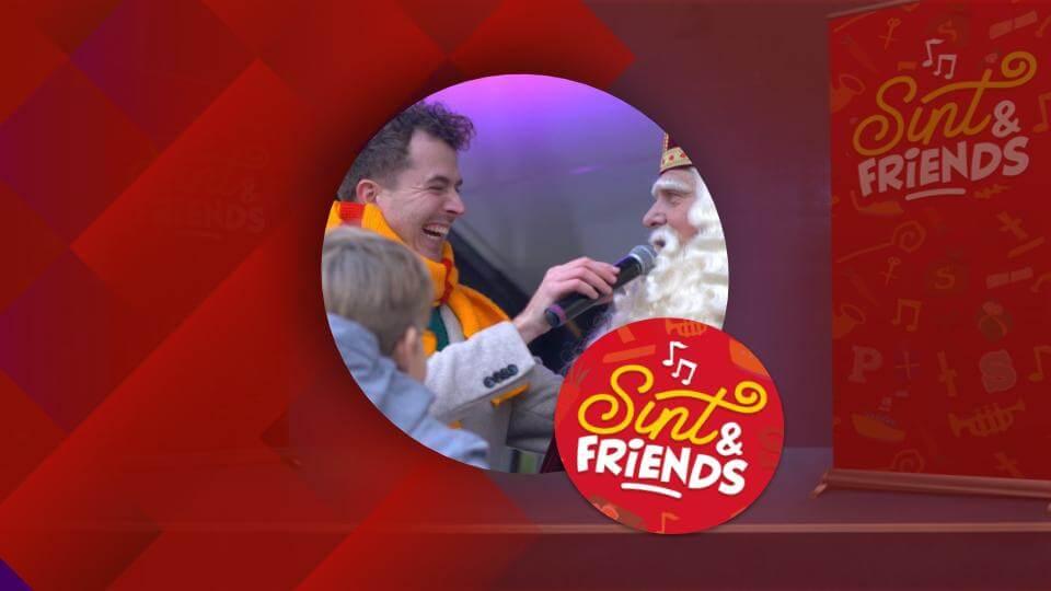 Sint & Friends Presentator show