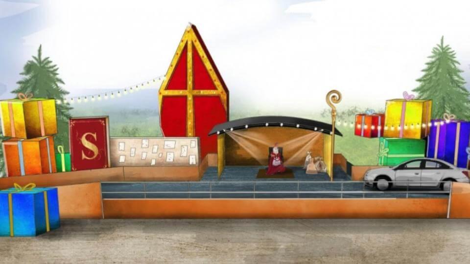 Sinterklaas drive inn thru